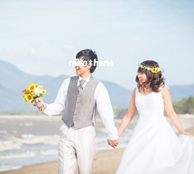 ウェディング ブーケ 花冠