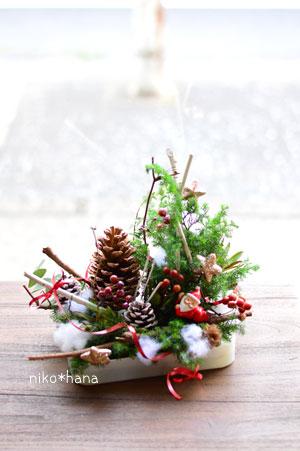 クリスマス アリレンジ