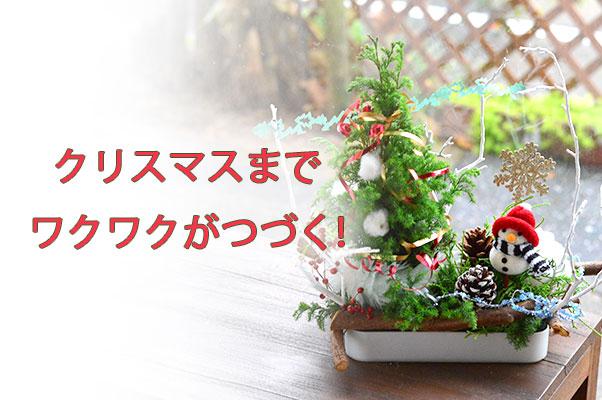 クリスマスアレンジメント キッズ