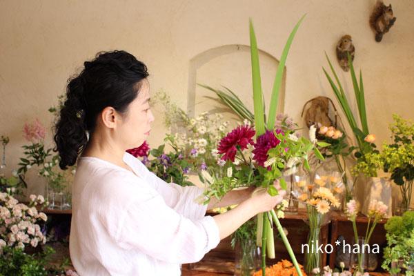 お花屋さん 働く