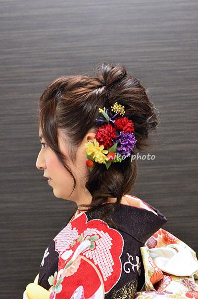 成人式,髪飾り