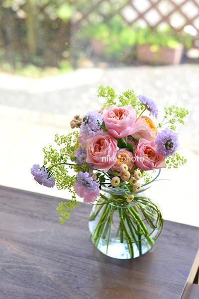 花束やブーケのレッスン